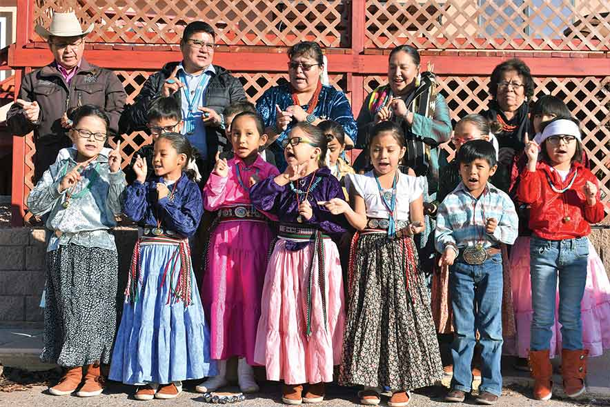 Delegate calls for Diné language revolution