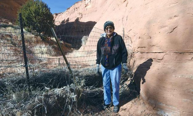 Elder reclaims grazing land, with a little help