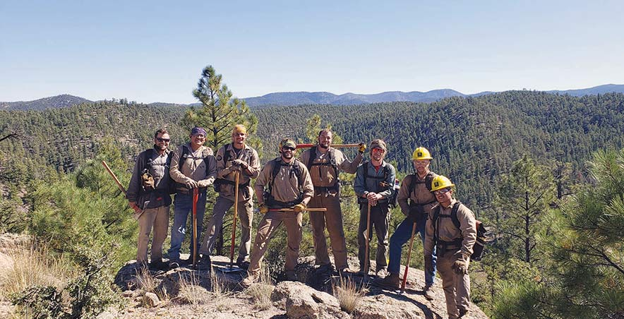 Sparking hope:  Firefighter training helps vets transition to civilian life, launch careers