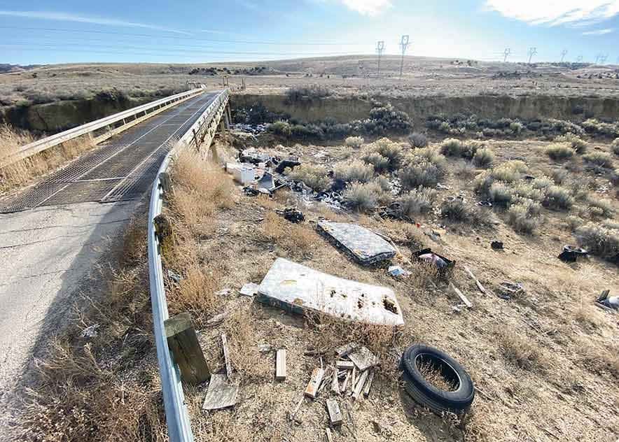 Illegal dumping proves a sticky issue
