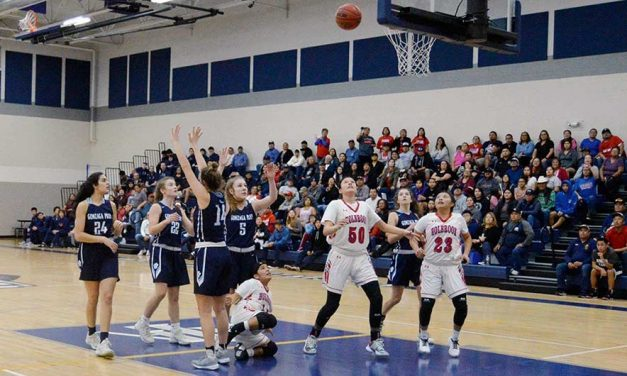 Holbrook girls challenge eventual champs