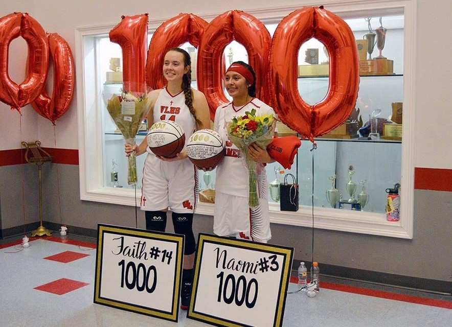 'I hope they will be inspired':  Diné junior racks up 1,000 points for Valley Lutheran