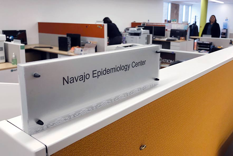 Epidemiology Center quietly working to make Diné healthier