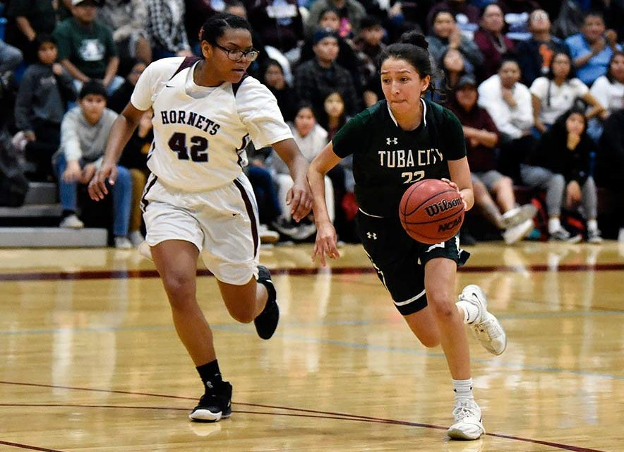 'The thing about my little guards is they can jump':  Lady Warriors end Ganado's 20-game streak