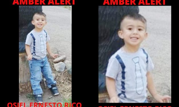 Amber Alert issued for 3-year-old boy