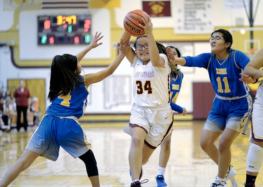 Pre-game pep talk propels Tohatchi girls to 54-31 win