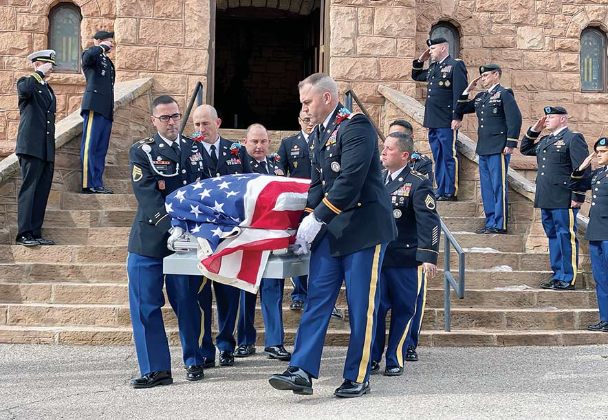 105-year-old vet laid to rest: Late matriarch originally wanted to be a code talker