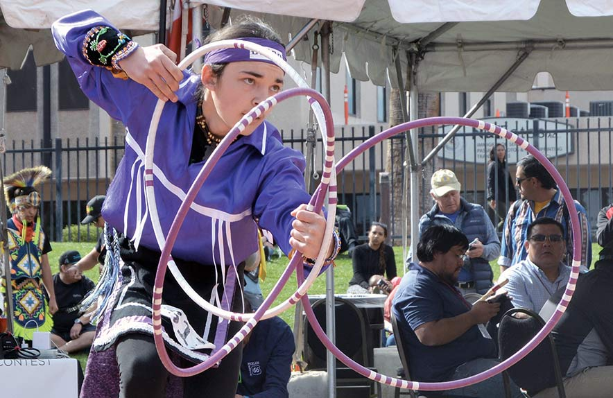 Sixkiller-Sinquah wins title at 30th hoop-dancing championship
