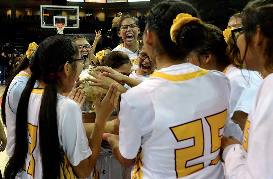 'This doesn't feel real': Rock Point girls claim their first golden ball