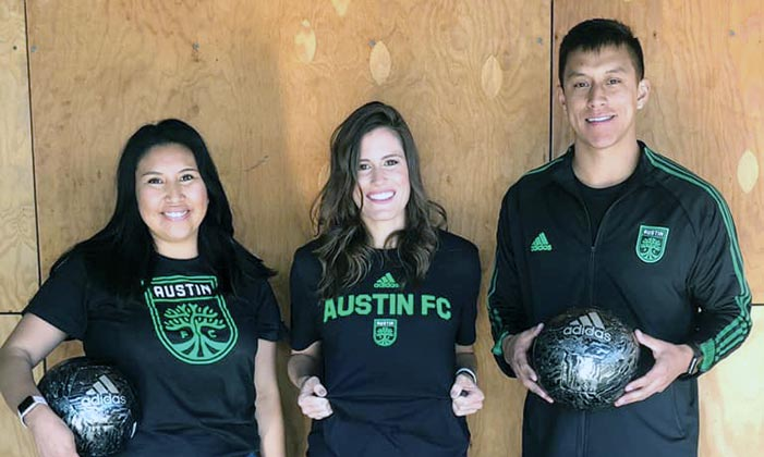Diné woman's nonprofit spotted by professional soccer team