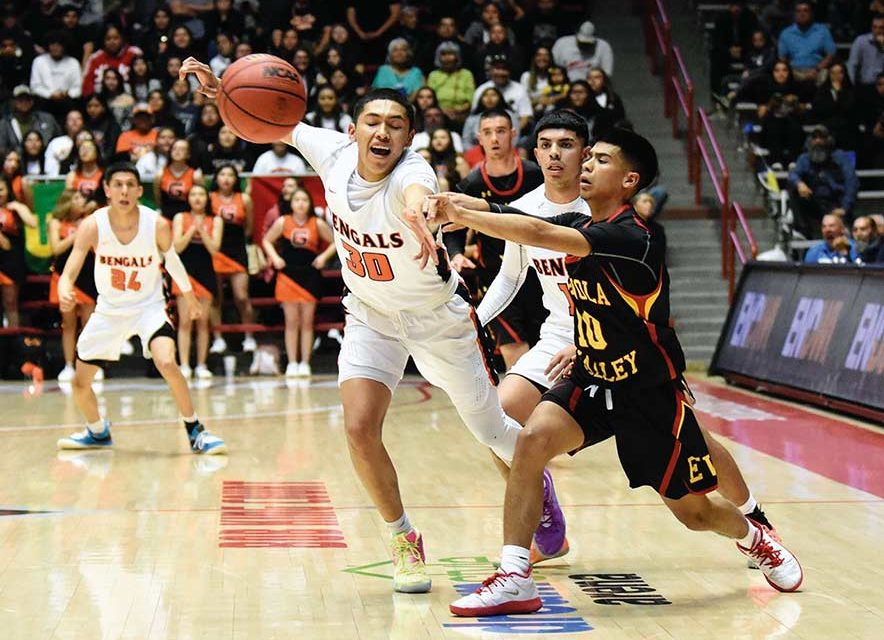 Gallup boys miss fans, lose in semifinal