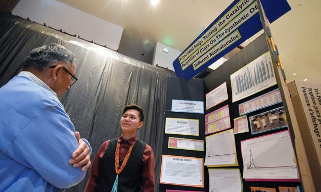 Recipes for primordial soup: Science fair runner-up delves into origin of life