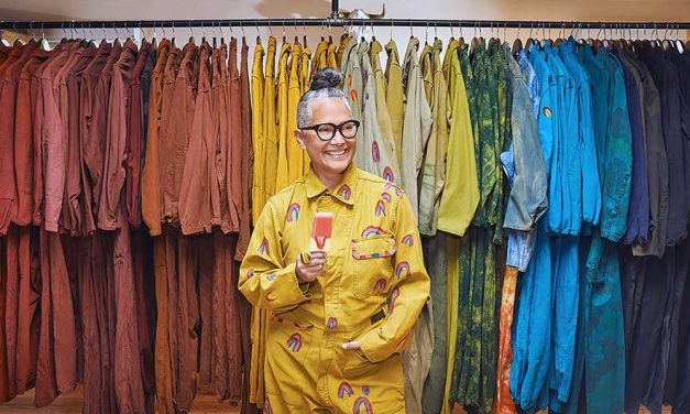 Entrepreneur creates up-cycled clothing, better life
