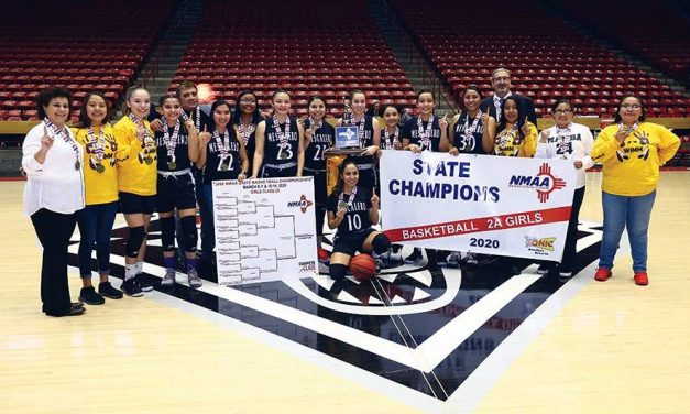 Mescalero girls motivated by title loss, win 1st championship
