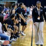 Female Diné coaches take stage at state final