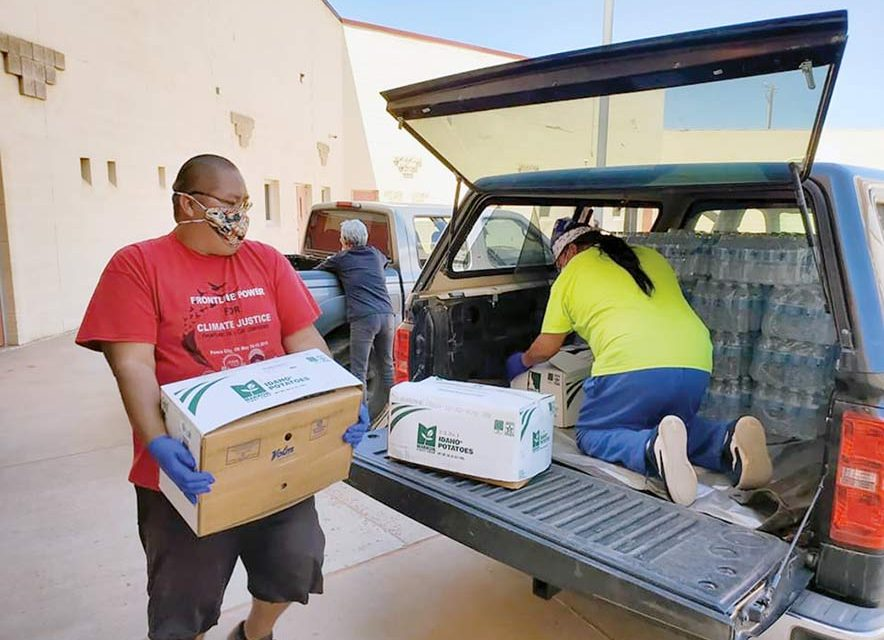'All hands on deck':  COVID-19 relief fund raises $622K for Navajo, Hopi families