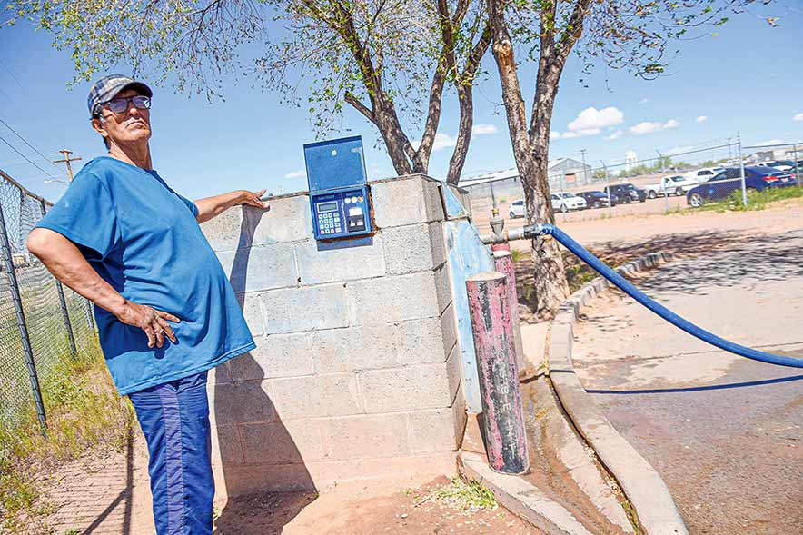 Pipeline goes to waste as Dzil Libei residents need water
