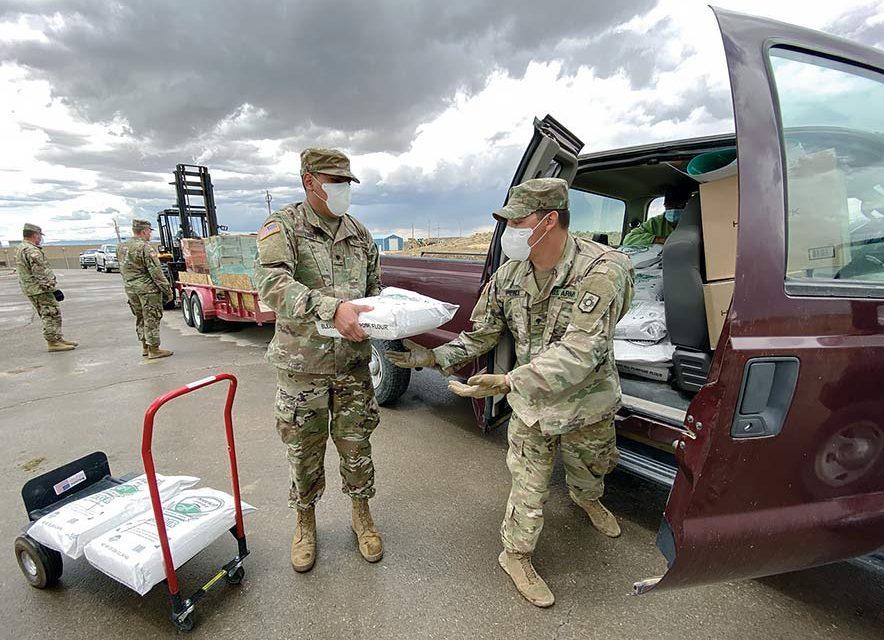 Relief efforts in full swing