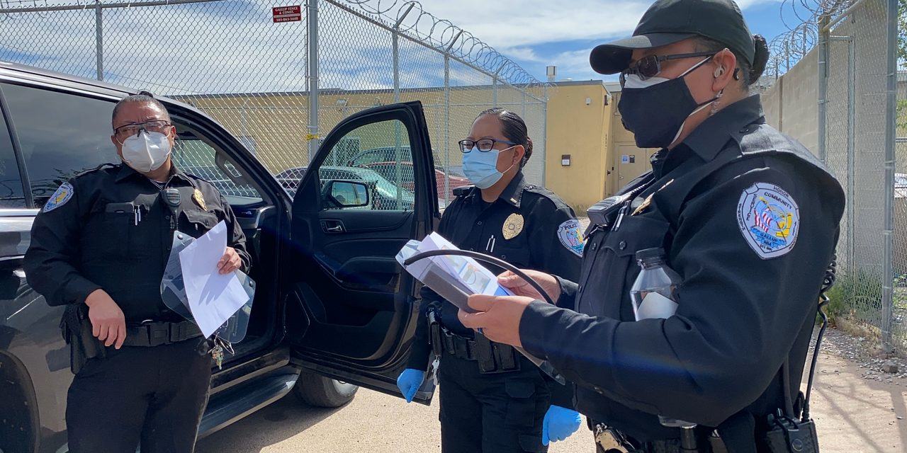 Gallup police to enforce new facemask rule