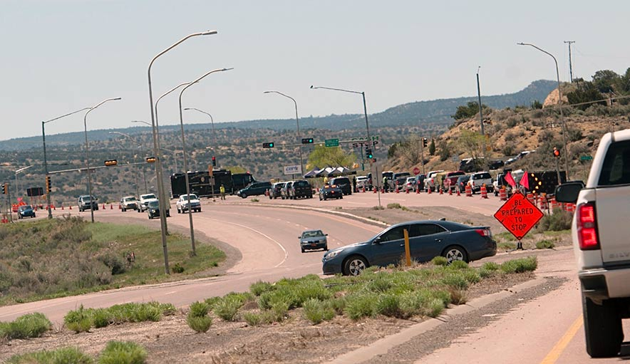 Gallup lockdown extended to Sunday