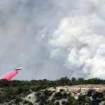 Fire in Wood Springs not yet contained