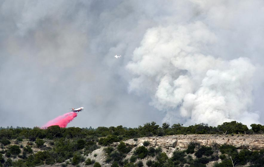 Wood Springs fire grows to nearly 500 acres