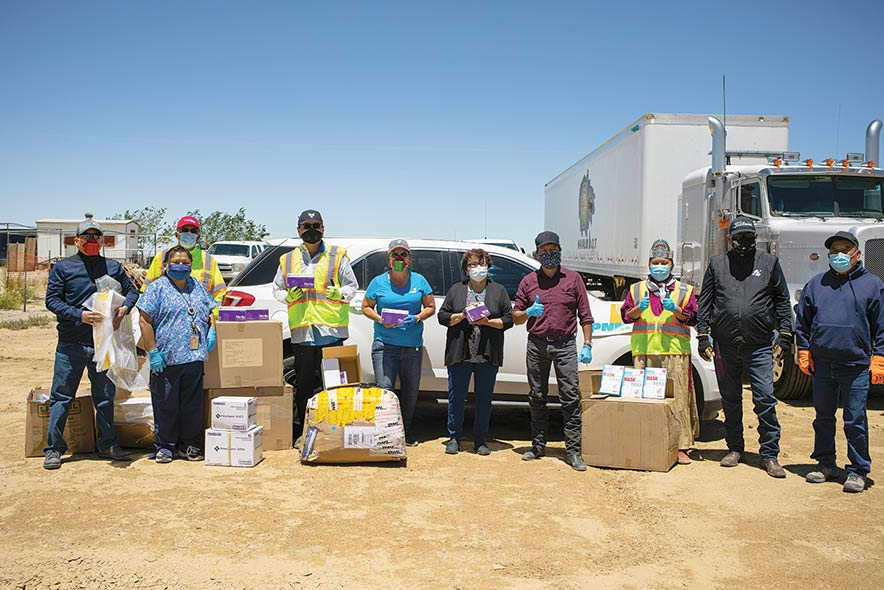 Shiprock residents still 'on standby' for donations