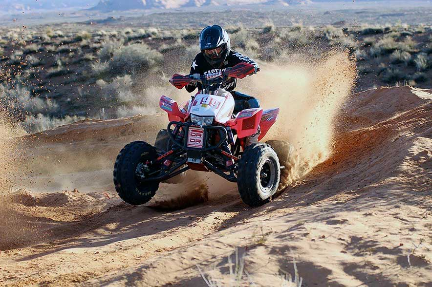 King of the quad:  Navajo teen carving out role in grueling sport