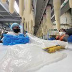 Glove factory struggles to keep pace with demand