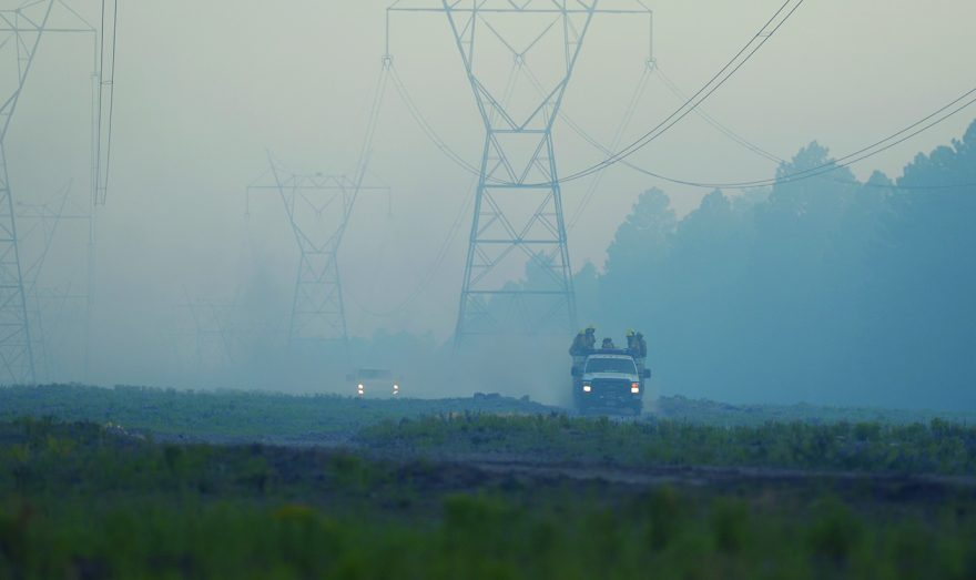 Wood Springs 2 fire not contained