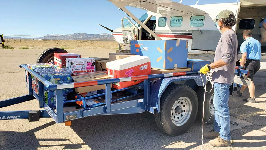 Navajo & Hopi Families fund lifts relief effort to new heights