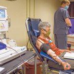 Donated blood plasma tested for coronavirus