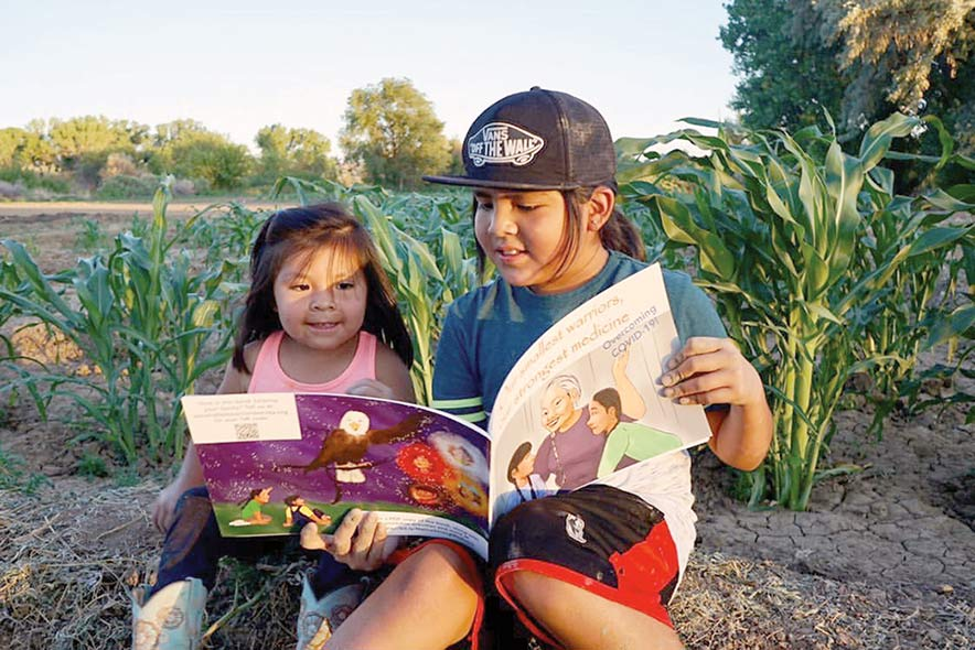 A book for kids:  Story focuses on 'smallest warriors' to teach about virus
