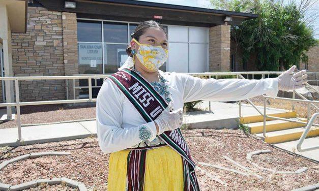 Miss Utah Navajo works to keep her community healthy