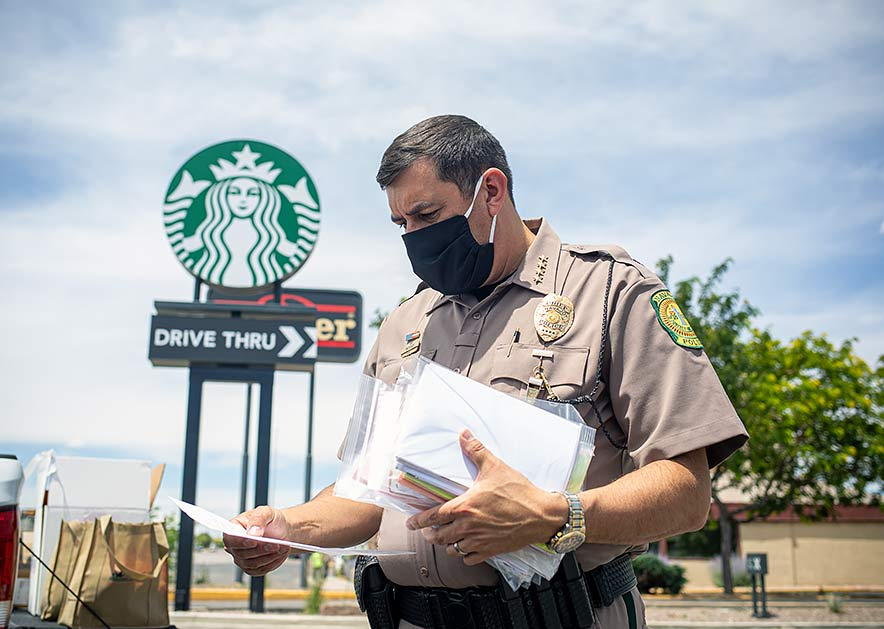 Starbucks gives a helping hand to Navajo Police