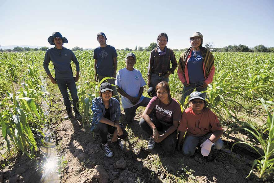 Ben Farms employs youth to work the land