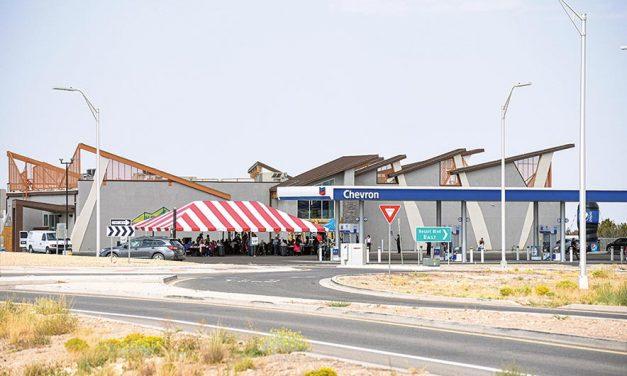Officials cite Navajo Blue Travel Plaza as success