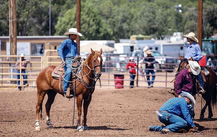 Hours of practice pay off big for roper
