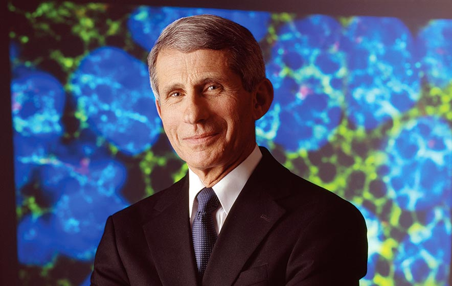 'Don't give up hope': Pandemic will be defeated, Fauci assures
