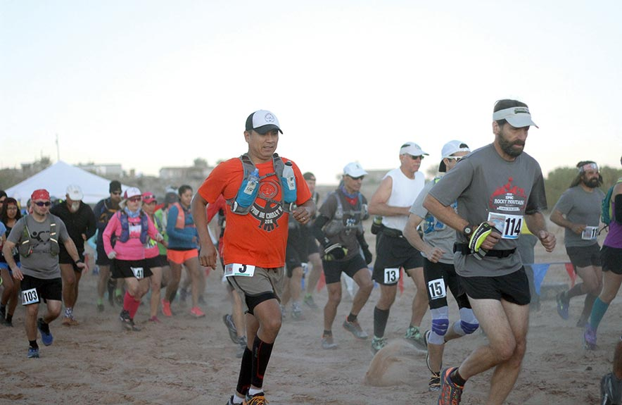 Spirit continues for Canyon de Chelly Ultra Marathon