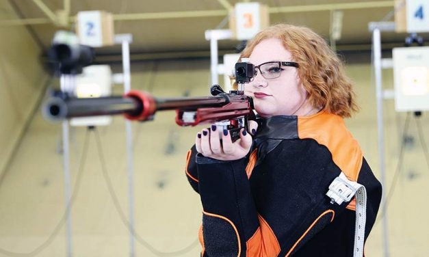 PV grad excels on UTEP rifle team