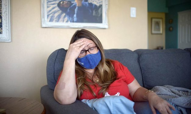 'I miss my brain':  Frontline hero continues to struggle with COVID-19