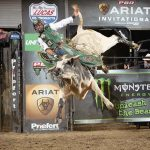 'Being in the moment': Diné finishes 4th at Unleash the Beast PBR Ariat Invitational