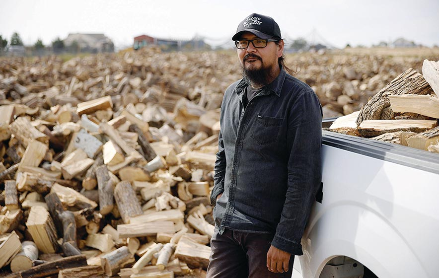 Downed trees in Salt Lake become firewood for Utah Navajos