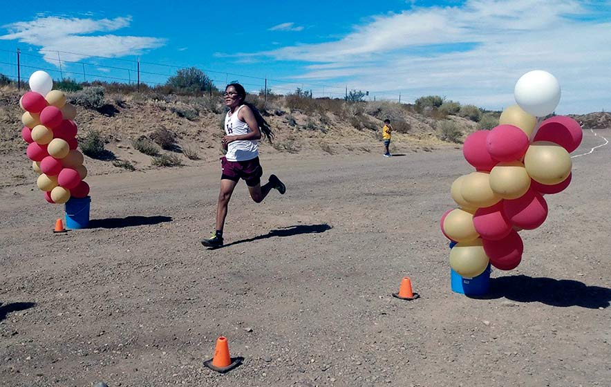 Winslow High cross-country team celebrates competition