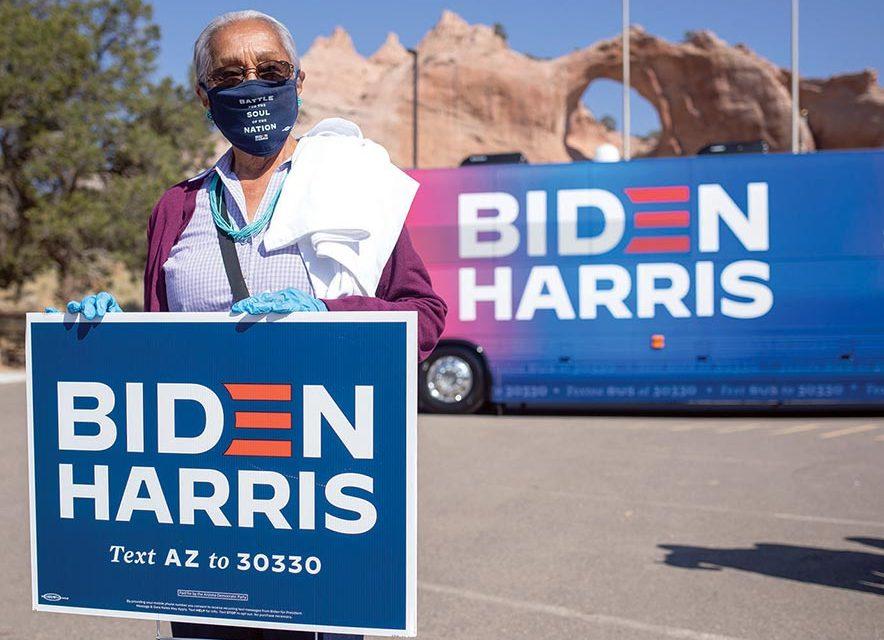 Nez to meet with Biden, Harris today