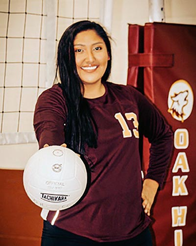 KC grad stands tall on college VB team