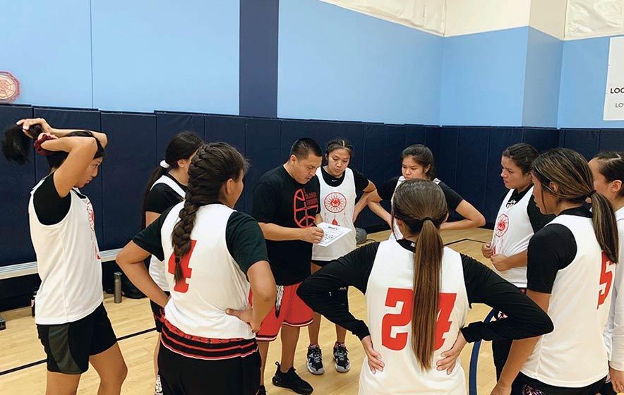 A family that teaches life lessons: All-Native girls' basketball team Run N Gun sets mark for players
