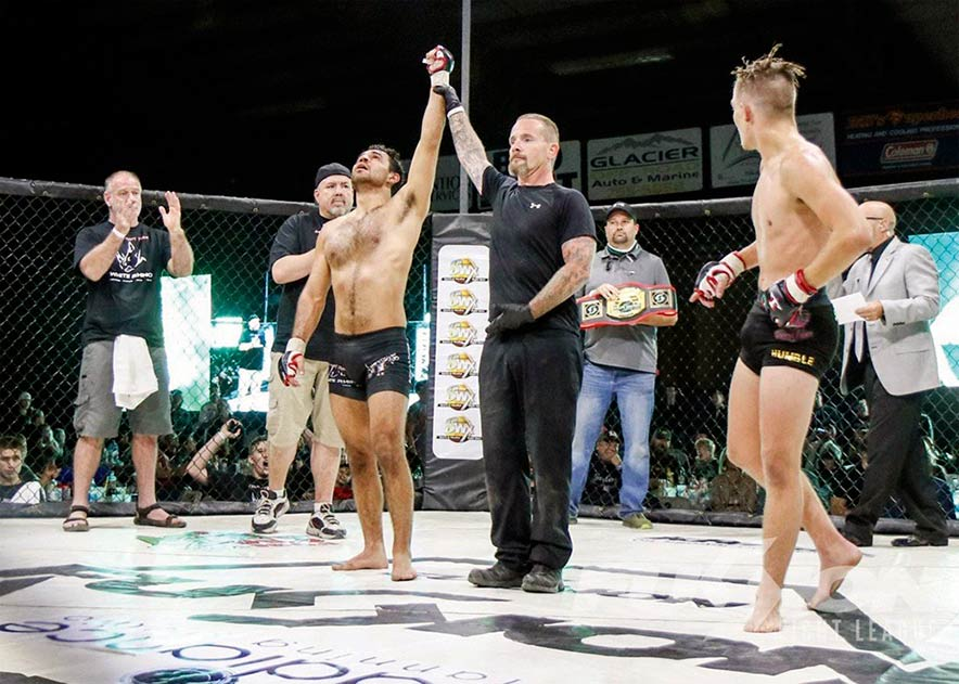 Going as far has he can go: Fighter beats COVID-19 on the way to becoming MMA pro