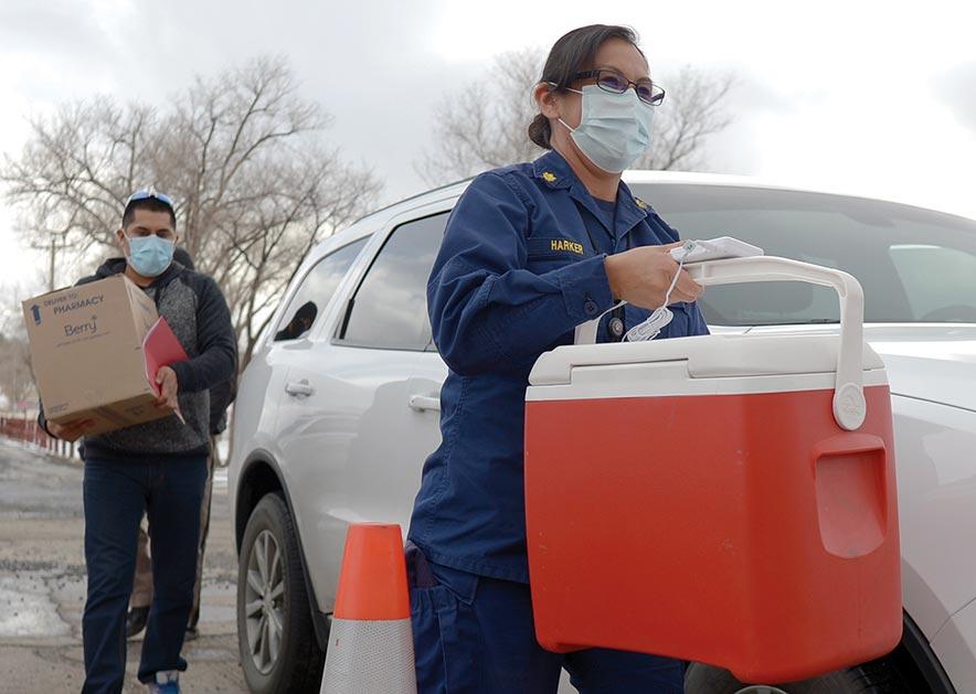 Vaccine arrives in Ganado